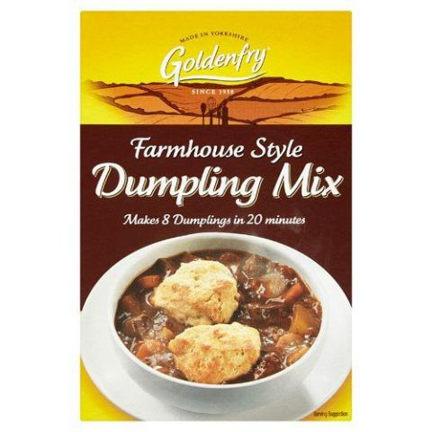 Farmhouse Style Dumpling Mix Goldenfry Box 142g